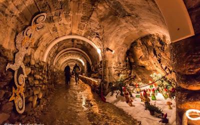 Villaggi e, grotte di Natale
