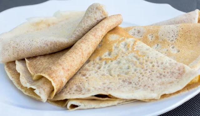 Vegan Crepes #vegan #breakfast