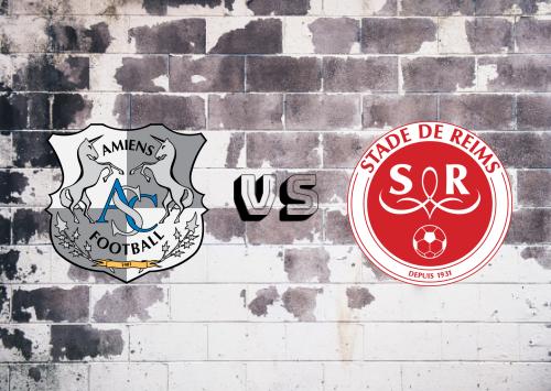 Amiens SC vs Reims  Resumen