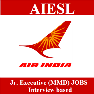 Air India Engineering Service Limited, AIESL, Air India Limited, Air India, Graduation, Junior Executive, freejobalert, Sarkari Naukri, Latest Jobs, aiesl logo