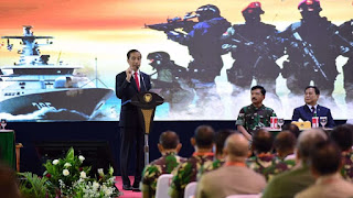 Presiden, Panglima TNI dan Menteri Pertahanan