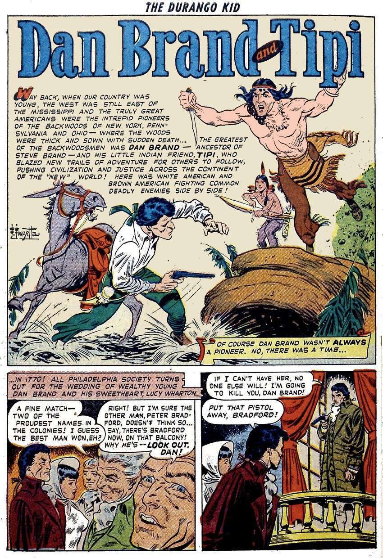 Pappy's Golden Age Comics Blogzine: Number 1722: Dan Brand origin by Fox  and Frazetta
