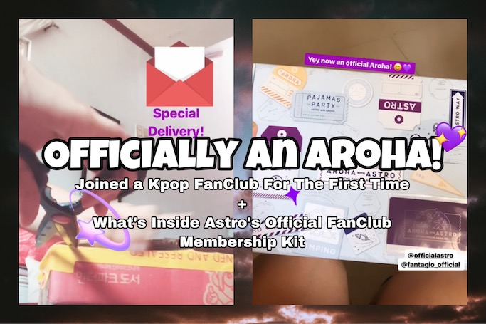 Officially An Aroha! | Joined Astro's 3rd Gen Aroha Membership