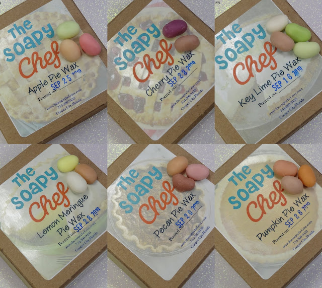 The Soapy Chef | Fall Pie Jelly Bean Collection