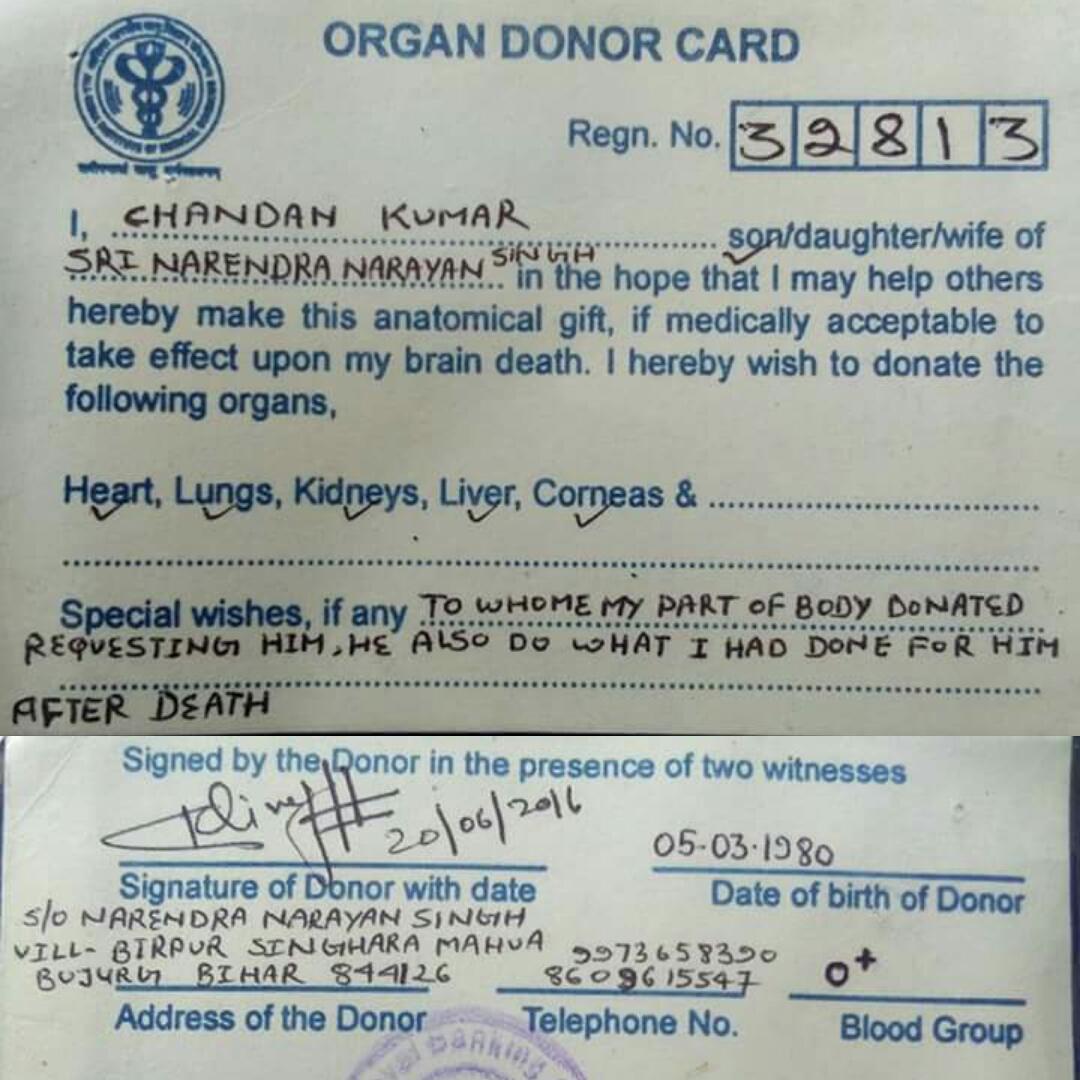 Rural Health Success Stories: An inspiring story of Organ Donation ...