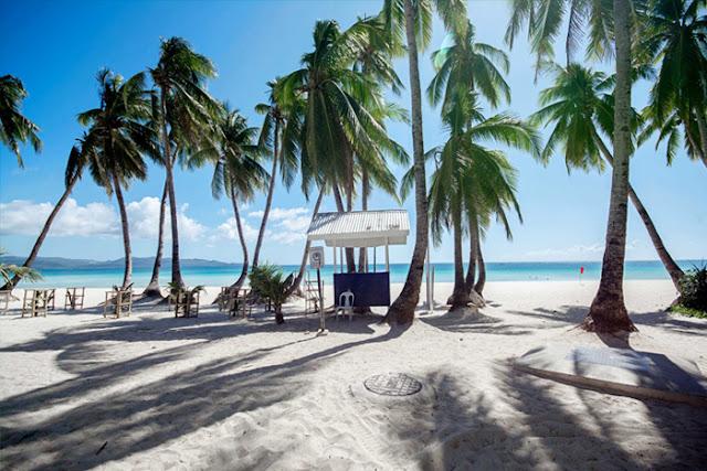 Uncrowded Boracay Island