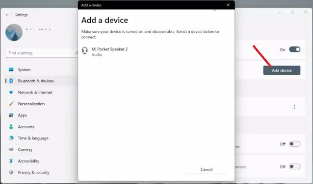 Cara Mengaktifkan Bluetooth di Windows 11-3