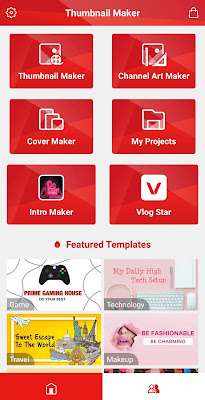 Tampilan Thumbnail Maker for YouTube Mod APK
