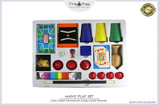 Jual alat sulap magic play set - Uzop Magicshop