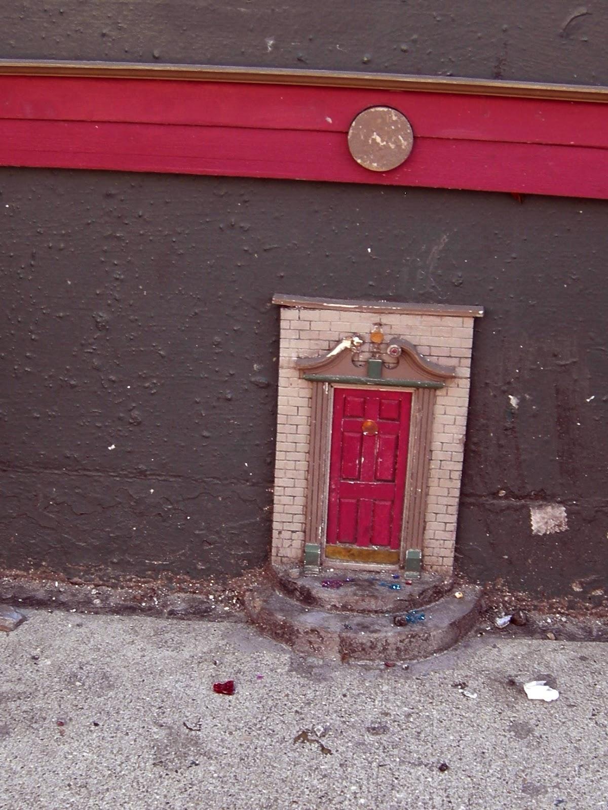 Retro Kimmer S Blog The Urban Fairy Doors Of Ann Arbor
