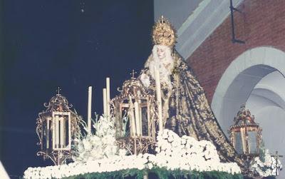 La Hermandad del Santo Entierro de Almería suspende la procesión del XXV Aniversario de la Dolorosa