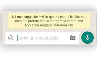 WhatsApp criptato