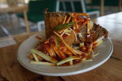 Ikan Kerapu saus thai