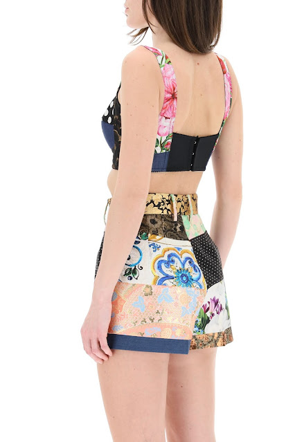 Dolce & Gabbana bustier top (RMNOnline.net)