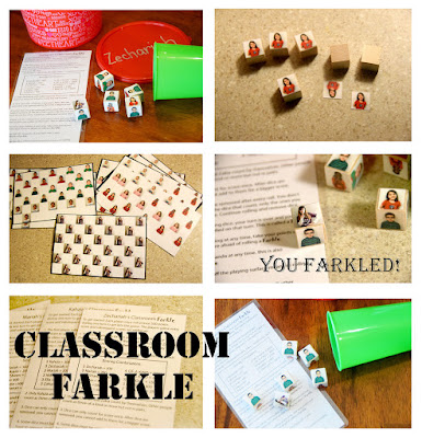 DIY classroom farkle to make for classroom or teacher