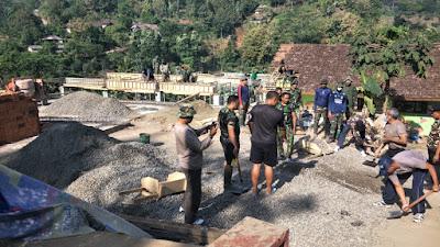 TMMD Ke-102 Mojokerto, Perkokoh Sinergitas TNI, Polri dan Pemda