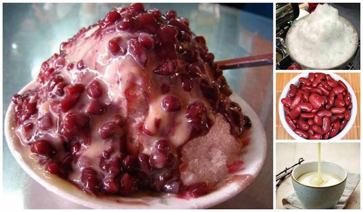 Hasil gambar untuk es kacang merah