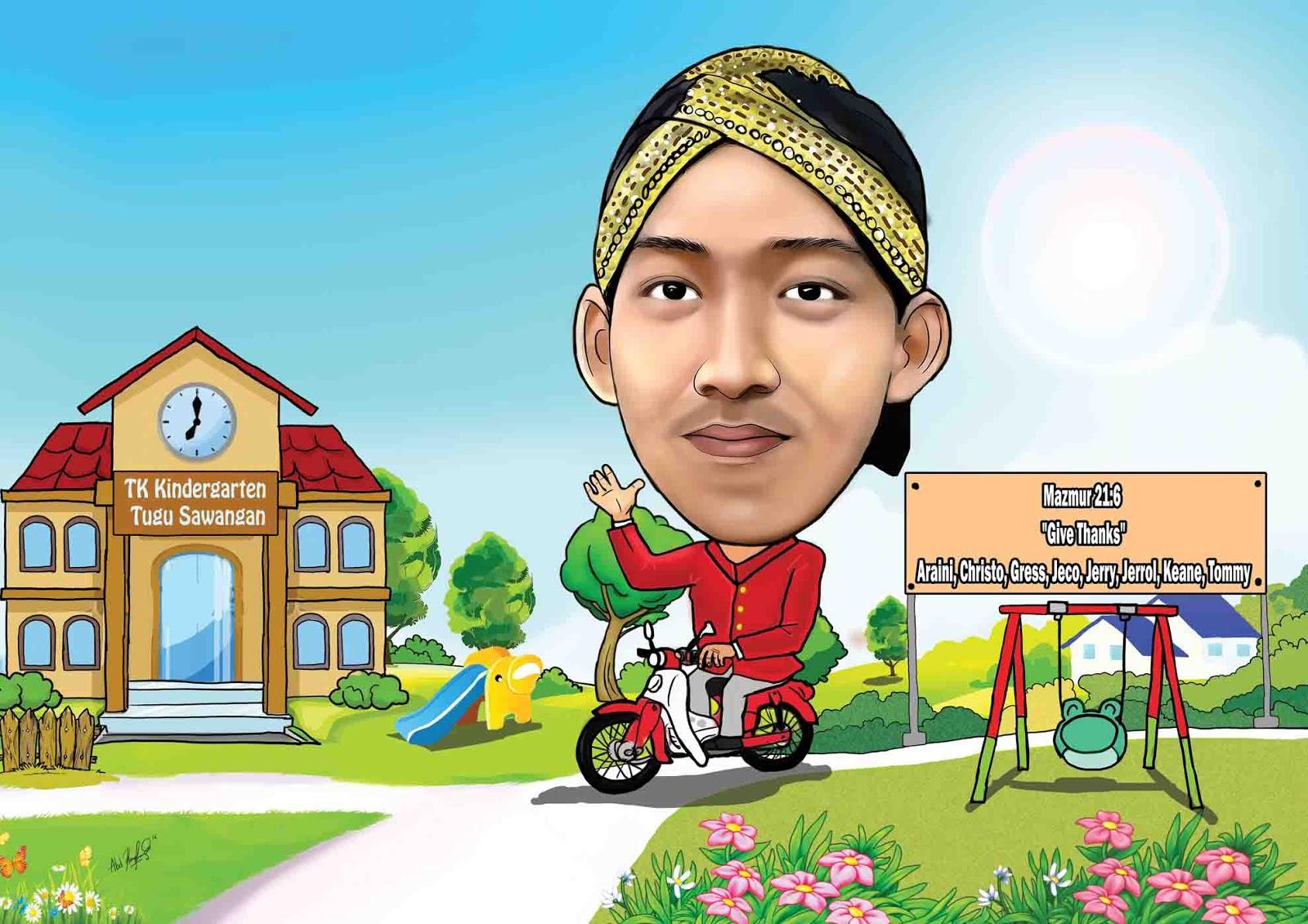 Jasa Karikatur Wajah Karikatur Digital Dan Manual Biro Karikatur