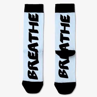 Breathe Socks Light Blue