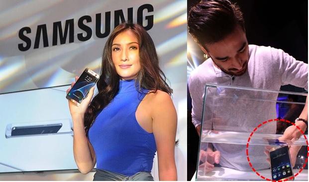 Solenn Heussaff and John Spainhour Samsung Galaxy S7