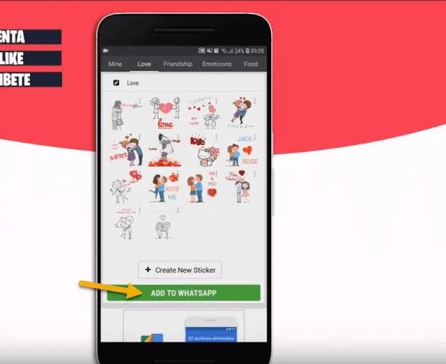 طريقة إنشاء ملصقات واتساب خاصة بك وإضافتها للتطبيق
