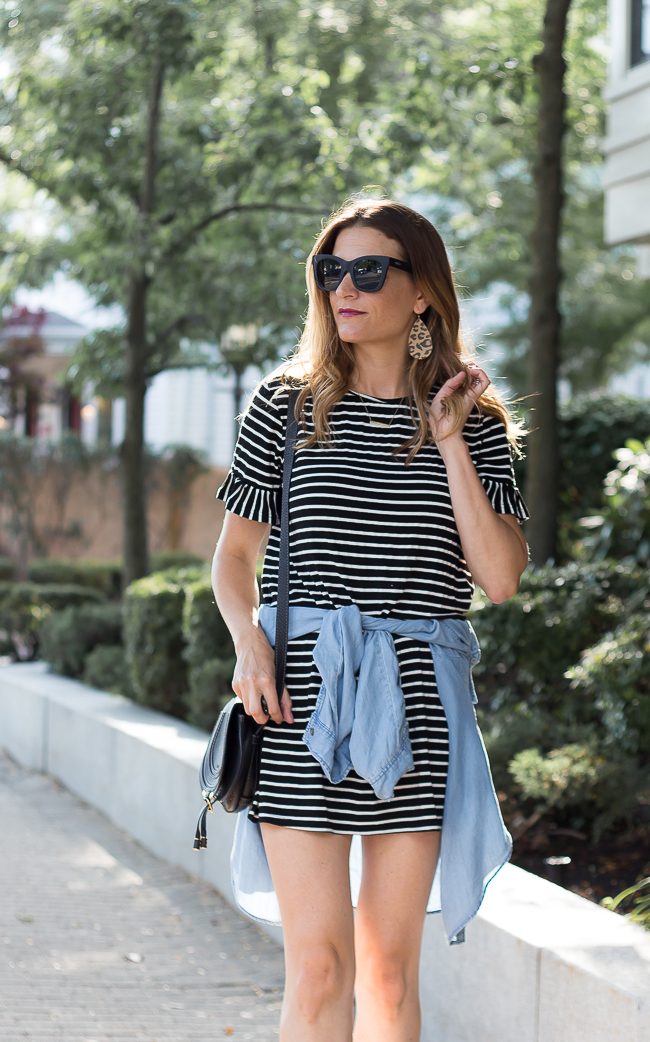 How to wear your summer dresses in fall