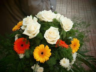 Flori de la o nuntă. Copyright by me