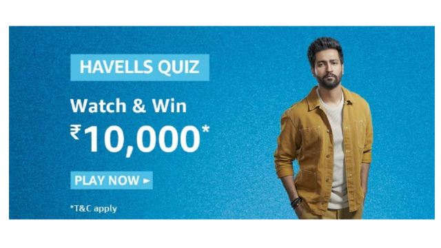 Amazon Havells Answers Today
