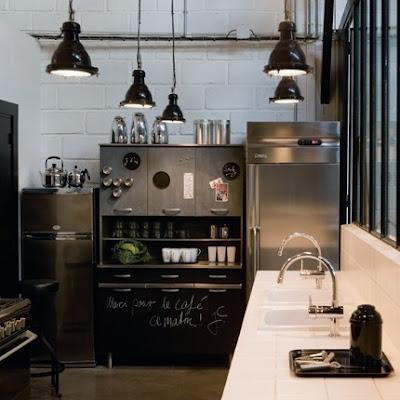 Iluminar la cocina ministry of deco for Lampara industrial cocina
