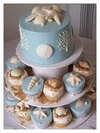 Cupcakes para Bodas en la Playa hayan sido de tu agrado