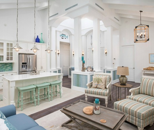 And Throughout The Es You Find Just Perfect Dose Of Delightful Beach Coastal Theme Decorations Accents Look