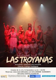 LAS TROYANAS | Teatro Ditirambo