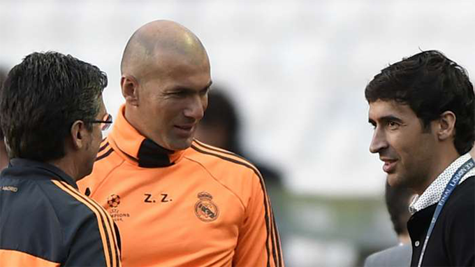 Raúl closest to Zidane's successor at Real Madrid