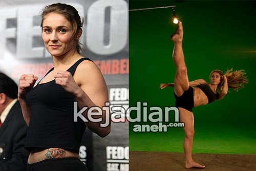 Marloes Coenen 13 Petarung Wanita UFC Paling Seksi dan Kuat