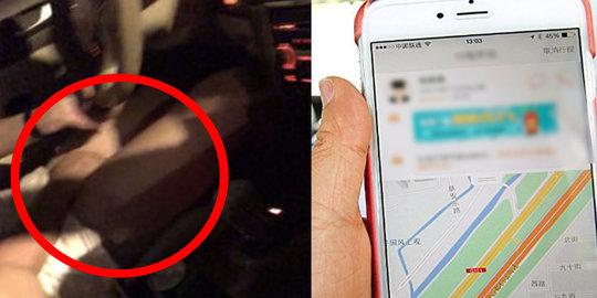 Sedang Order Taksi Online, Ketika Naik Wanita ini di Buat Syok Sang Driver yang Tak Pakai Celana, Selanjutnya ini yang Terjadi