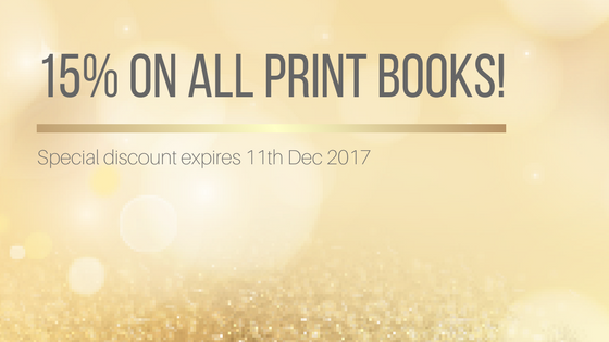15% on all print books!