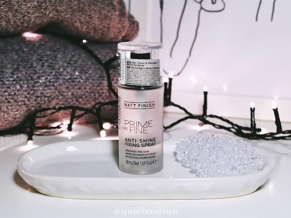 Catrice, Prime and Fine, Anti - Shine Fixing Spray
