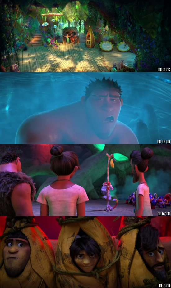 The Croods A New Age 2020 BRRip 720p 480p Dual Audio Hindi English Full Movie Download