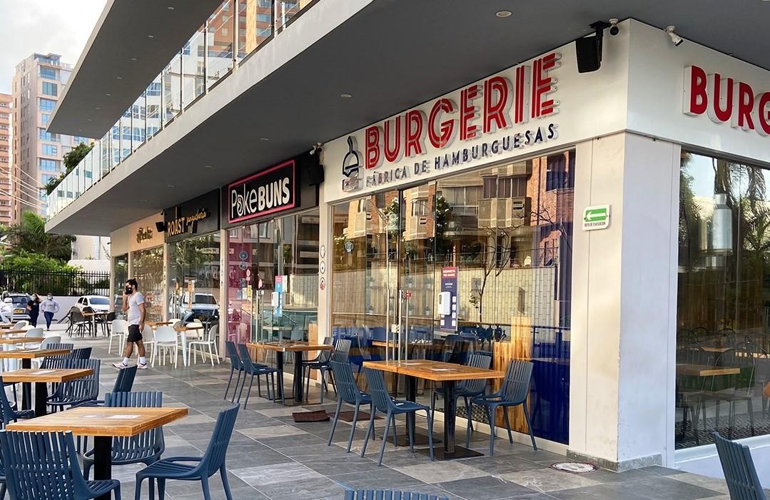 Burgerie restaurante
