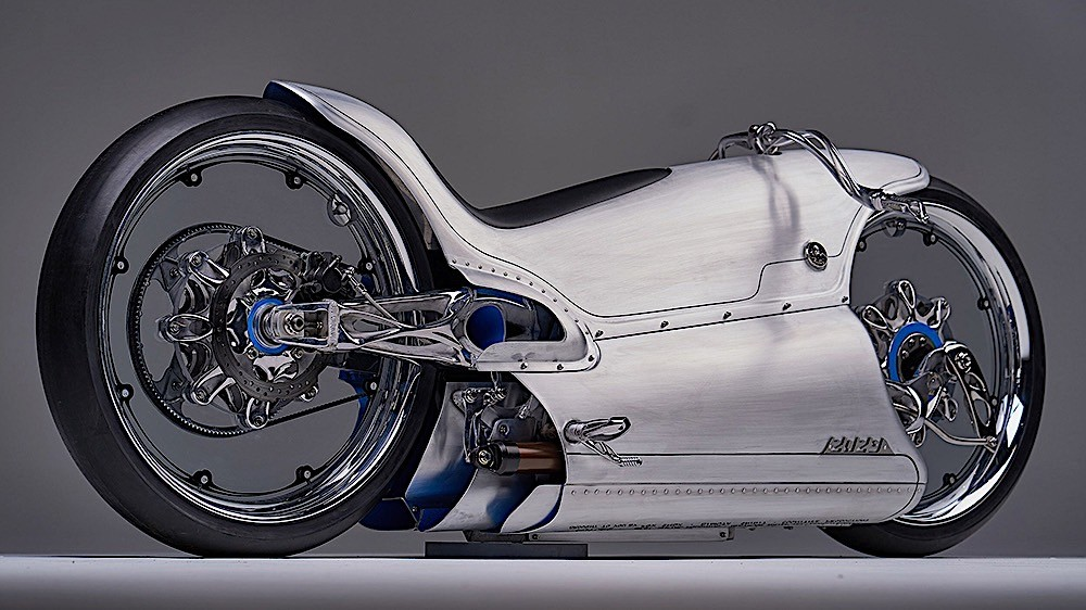 Modifikasi Motor Futuristik