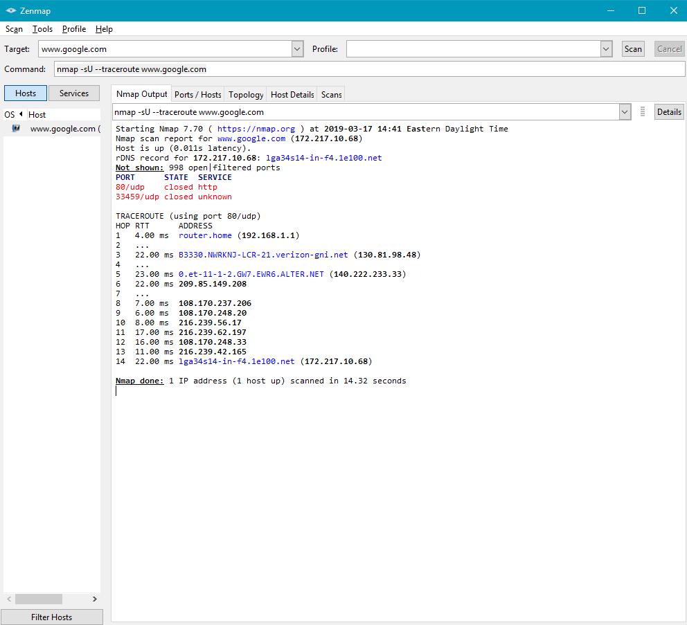 Keith Kim: Fios Issue #2: tracert on Windows