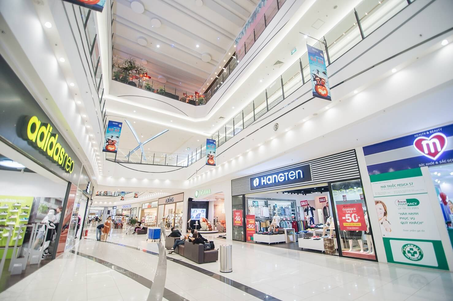 Địa điểm thân thuộc của tín đồ mua sắm.