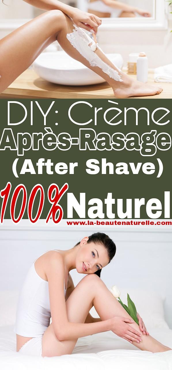 DIY: crème après-rasage (after shave) 100% naturel