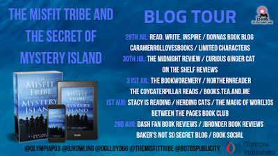 Blog tour for The Misfit Tribe and the Secret of Mystery Island