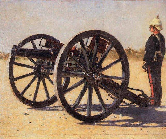 Василий Васильевич Верещагин - Пушка. 1882-1883