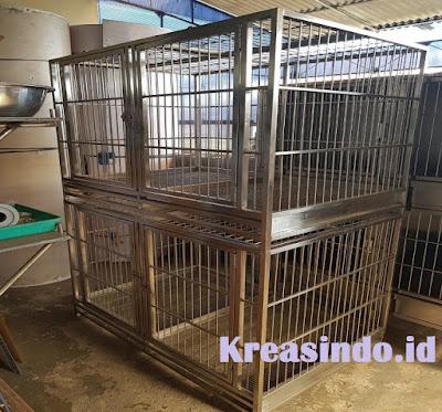 Jasa Kandang Kucing Stainless Tangerang dan sekitarnya Harga Murah