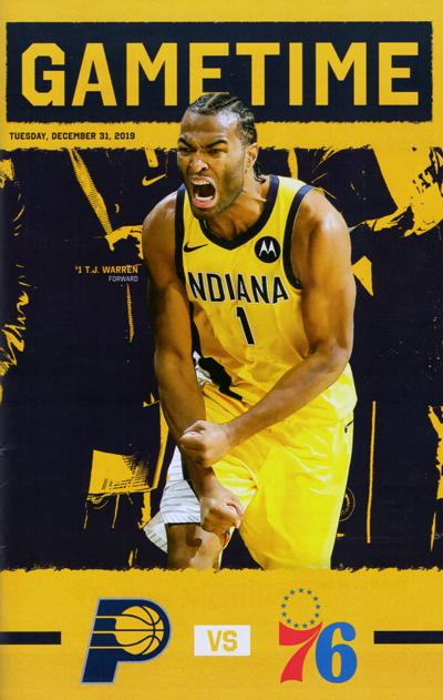 Indiana Pacers 2019/20 season program