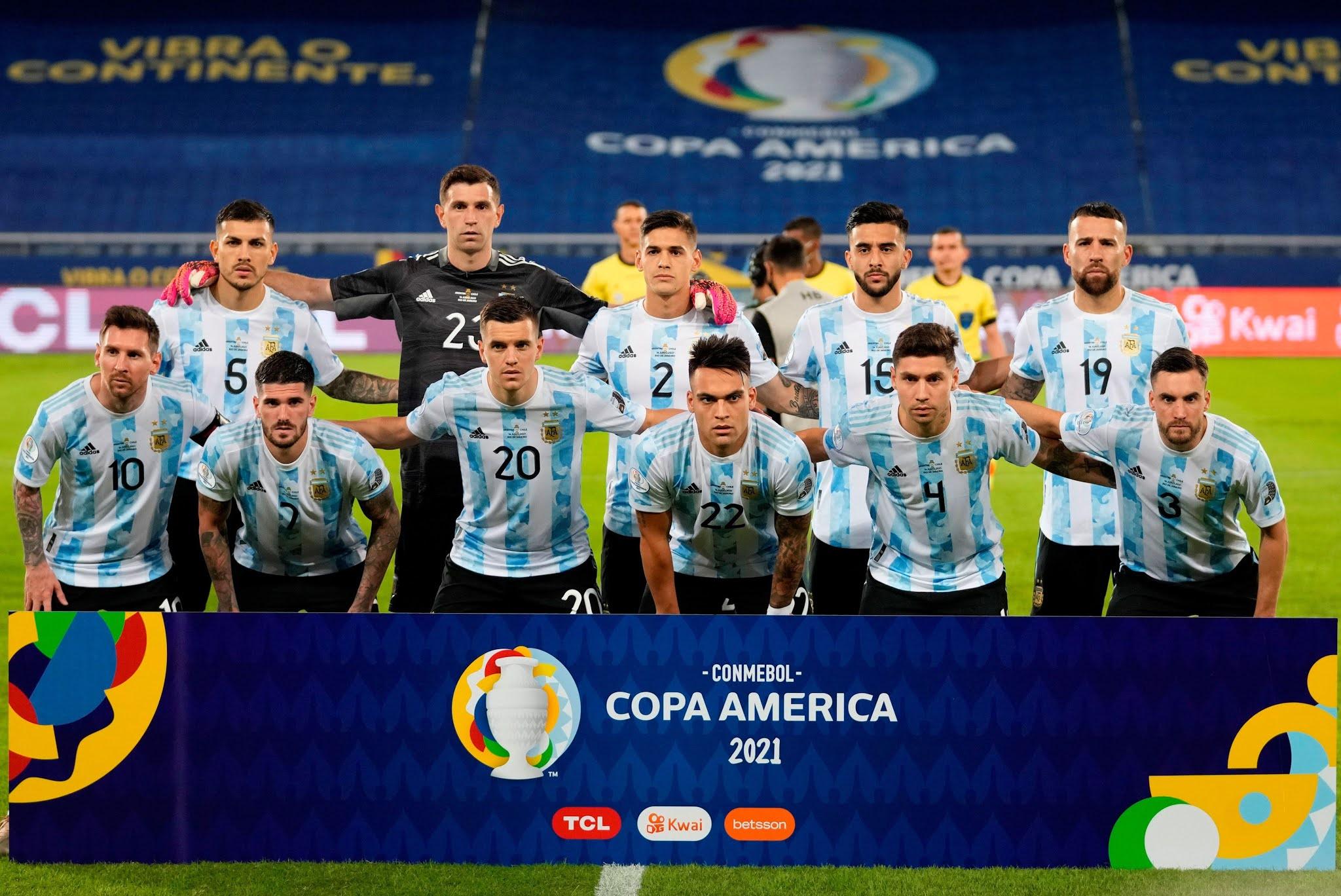 Formación de Argentina ante Chile, Copa América 2021, 14 de junio
