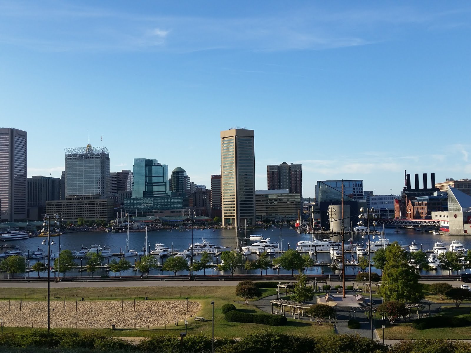A Baltimore view