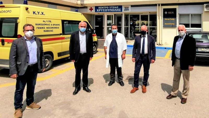 Επιπλέον 1 εκατομμύριο ευρώ από την Περιφέρεια ΑΜ-Θ σε Κέντρα Υγείας και Νοσοκομείο Αλεξανδρούπολης
